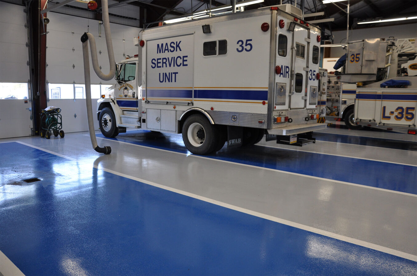 Fire station Flooring contractors