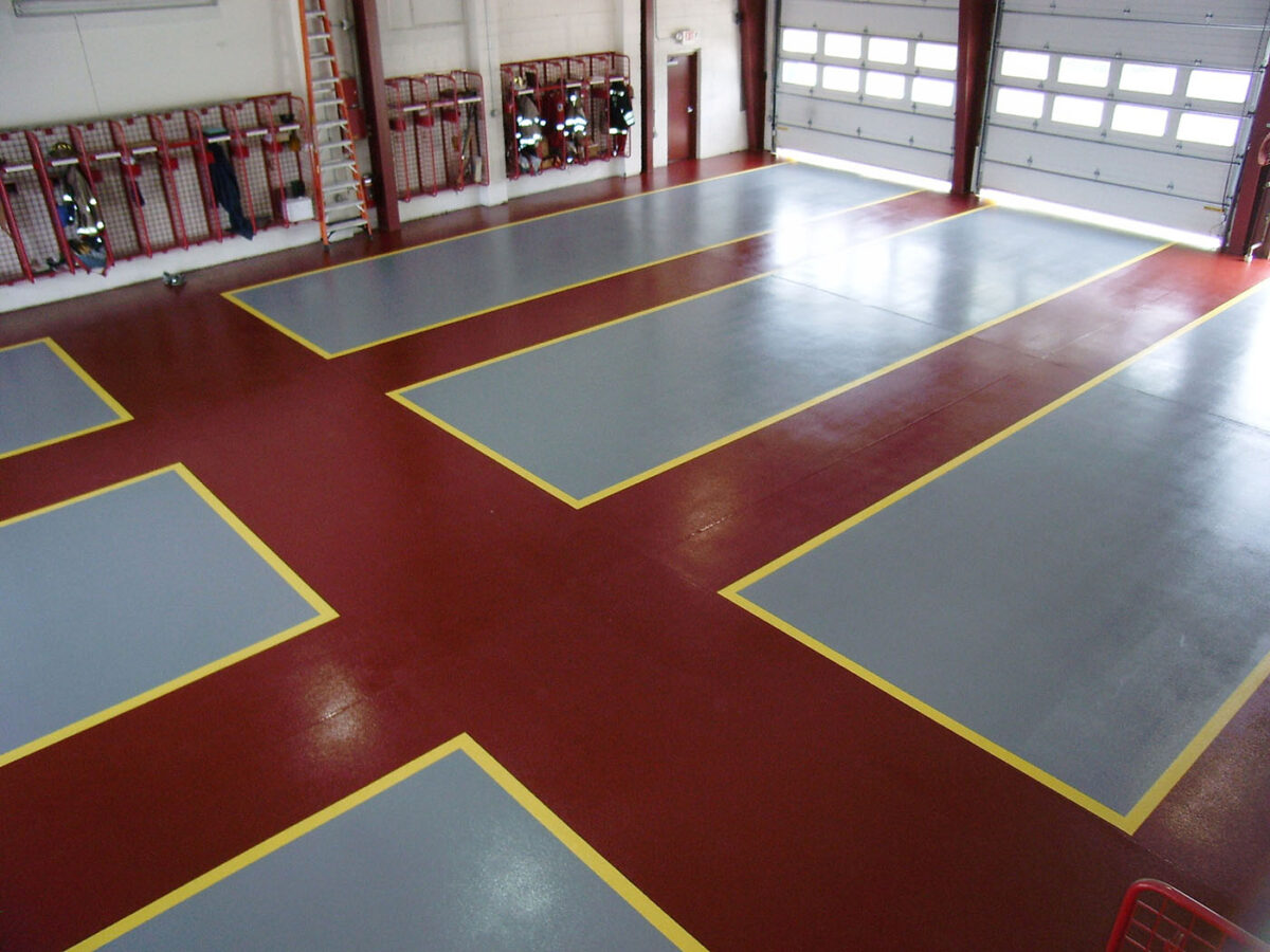 Fire station Flooring